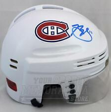 Brendan Gallagher Montreal Canadiens Signed Autographed White Mini Helmet