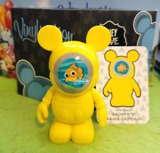 """Disney Vinylmation 3"""" Park Set 4 Finding Nemo Submarine with Box and Card"""