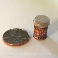 Dollhouse miniature food 1:12 Marmalade