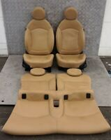 BMW Mini Cooper One 1 R56 SPORTS Piena Pelle Beige Sedili Interni con Airbag