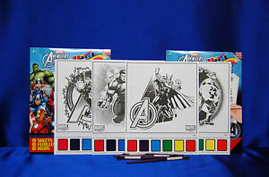 Avengers Party Set # 21  Tablecovers Banners Plates Cups Invites Stickers Banner