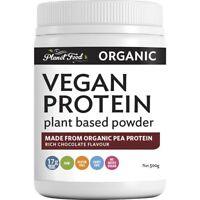 Planet Food Organic Chocolate Flavour Vegan Protein Powder 500 gram