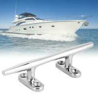 Stainless Steel Yacht Rope Base Round Cleat Bollard Yacht Device for Ship Boat