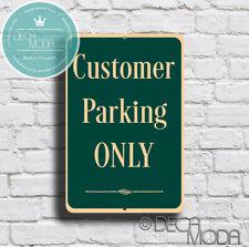 Personalizado no estacionamiento señal-Estacionamiento sólo-Aluminio signo-Custom-nombre