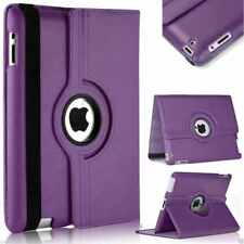 Leather Rotating Stand Case Cover For Apple iPad (All Models Available)