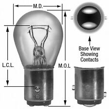 Brake Light Bulb fits 1985-2011 Volvo 740 S40,V50 760  WAGNER LIGHTING