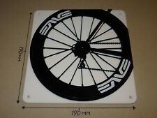 ENVE Cycling Wheel, ENVE rear wheel design - Acrylic Sign: 190x190mm