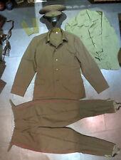 Afghanistan War Military Uniform Field Officer Jacket Cap Pants Set USSR Soviet