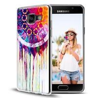 Handy Hülle Samsung Galaxy A5 2016 Cover Case Schutz Tasche Motiv Slim Silikon