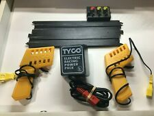 """VINTAGE TYCO 9"""" TERMINAL # B-5832 TRACK 2 CONTROLLERS AND POWER SUPPLY"""