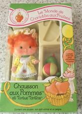 Ultra rare vintage Strawberry Shortcake-Apple Chiffre d'affaires et tortue Sandwich