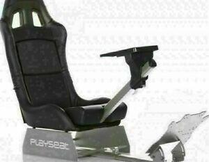 Playseat Revolution Gaming Stuhl Rennsitz Simulationssitz Schwarz/Silber TOP
