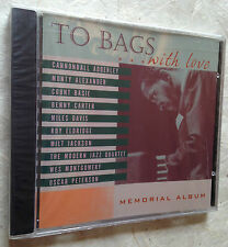 TO BAGS CD WITH LOVE MEMORIAL ALBUM PAC-2310-967-2 2000 JAZZ