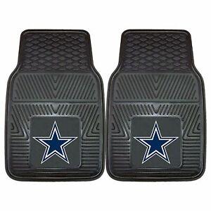 NEW Dallas Cowboys Football Vinyl Universal Size Rubber Floor Mats-Fanmats