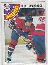 78/79 TOPPS...DOUG RISEBROUGH...CARD # 249...CANADIENS
