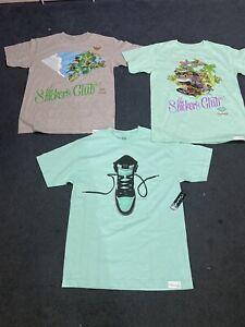Diamond supply co DSC mens t shirt bundle Size med Blue tag RARE