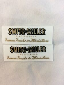 Smith Miller  Door Decals  Vinyl
