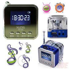 Mini Portable LCD HiFi MP3/4 Music Player USB Disk Micro SD/TF FM Radio Speaker