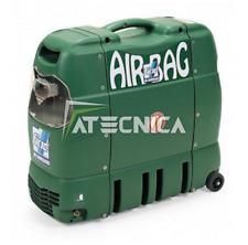 COMPRESSORE D'ARIA SILENZIATO FIAC AIRBAG HP 1,5  PORTATILE 6 LT 230V 69 DB