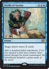 STROKE OF GENIUS Commander 2014 MTG Blue Instant Rare