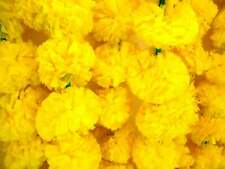 50 PC Lot Artificial Marigold Garland Wedding Flower Decorations Vine