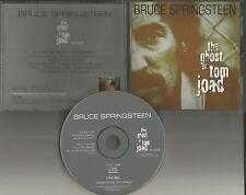 BRUCE SPRINGSTEEN Ghost to Tom Joad 1995 USA PROMO DJ CD Single w/PRINTED LYRICS
