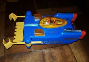 THUNDERBIRDS EXCAVATOR vintage SPACE Ship TOY Gerry Anderson BANDAI Japan works
