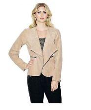 Größe 46 Damenjacken & -mäntel in Übergröße aus Leder