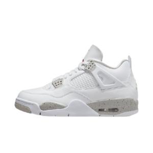 "[Nike] Air Jordan 4 Retro ""White Oreo"" Shoes Sneakers - Tech White (CT8527-100)"