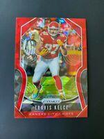 Travis Kelce 2019 Panini Prizm Cracked Red Ice #209 Kansas City Chiefs NFL