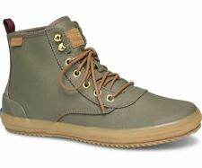 Keds WF58421 Women's Scout Boot Splash Canvas Olive w/ Thinsulate Size 5.5 Med