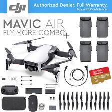 DJI MAVIC AIR ARCTIC WHITE -FLY MORE COMBO PLUS- EXTRA BATTERY- FREE MEMORY CARD