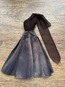 Vintage Barbie/Sindy Brown Ballgown Dress