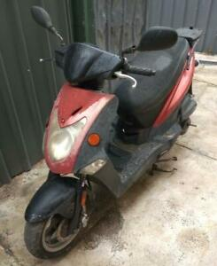 KYMCO Agility motorcycle scooter.