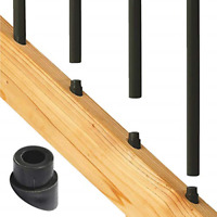 Deckorators Black Plastic Classic Stair Baluster Connector (20-Pack) 74817  - 1