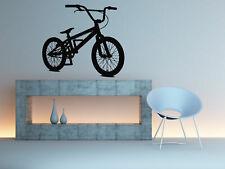 Wall Decal Vinyl Sticker Muscle Bedroom Nursery Bicycle BMX kids sport bo2894