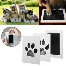 1Set Baby Handprint And Footprint Ink Pads Paw Print Ink Kits For Babies & Pets