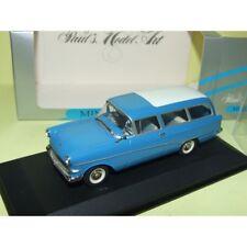 OPEL REKORD P1 CARAVAN 1958-1960 Blue Bleu MINICHAMPS 1:43 défaut