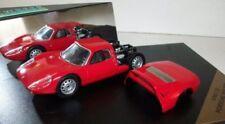 Coches, camiones y furgonetas de automodelismo y aeromodelismo de metal blanco, Porsche, Escala 1:43