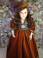 "Pauline Bjonness Jacobsen doll ""Amber"" 21 inches. 16/950. Rare"