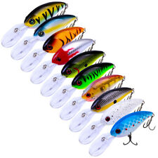 14pcs Minnow Fishing Lures Wobbler Bait Bass Pike Fishing Crankbaits 10cm 14.5g