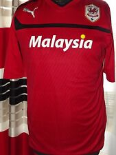 2013-14 Cardiff Home Excellent (M) Shirt Jersey Trikot  Maglia Maillot Camiseta