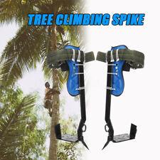 Tree surgeons surgery climbing spike leg spur straps