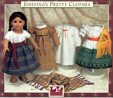 JOSEFINA'S PRETTY CLOTHES PATTERN~PLEASANT COMPANY~AMERICAN GIRL~1990 NEW~SEALED