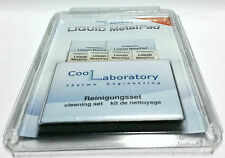 Coollaboratory Liquid Metal Pad 2 x CPU + 4 x GPU + Cleaning Set