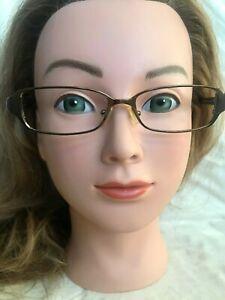 PRADA VPR55G 8AE-1O1 Eyeglasses Frame Italy 51-15-135 Copper Brown Polished WB58