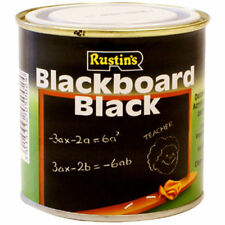 Rustins Negro Pizarra Tiza Tablero 500 Ml Pintura Mate