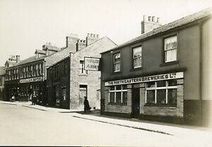 LOW SPENNYMOOR  Durham: Original 6x4ins photo PUDDLERS ARMS INN c.1932