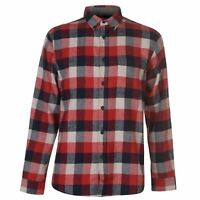 Pierre Cardin Full Length Sleeve Check Shirt Mens Gents Everyday Regular Fit
