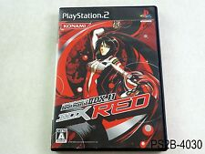 beatmania IIDX 11 Red Playstation 2 Japanese Import PS2 Japan 11th US Seller B